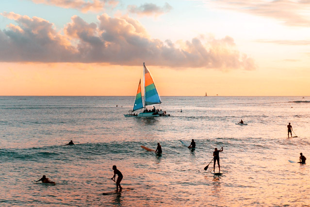 Best Waikiki Sunsets