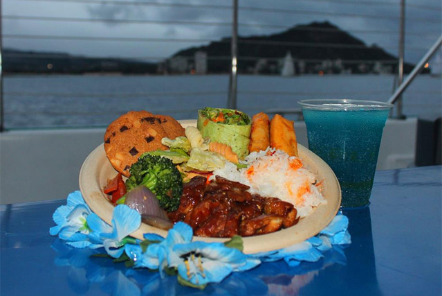 Enjoy a Sunset Dinner Buffet