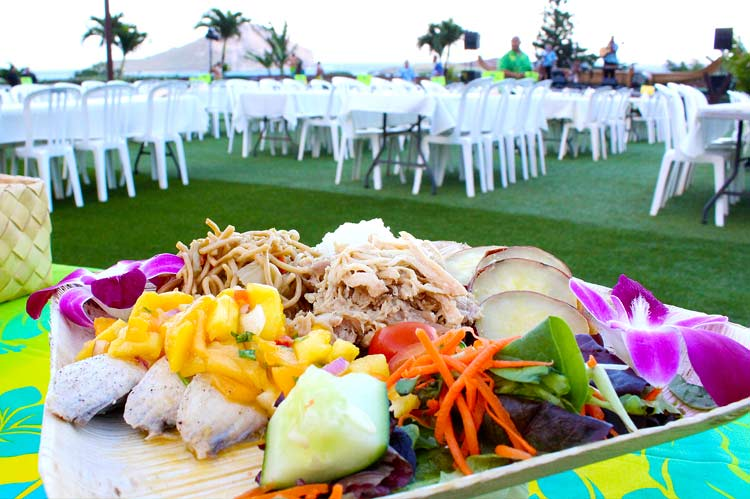 All You can eat Luau Buffet