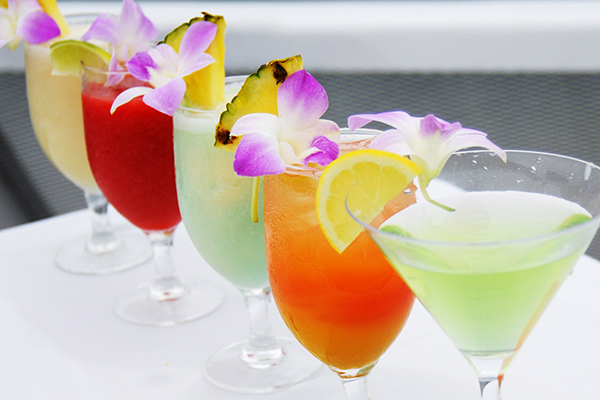 Refreshing Tropical Cocktails