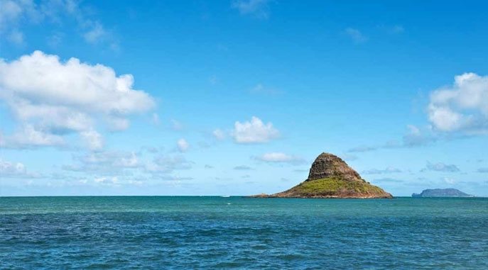 View of Chinaman's Hat