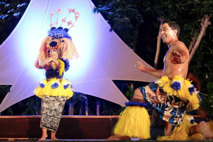 Gathering of the Kings luau