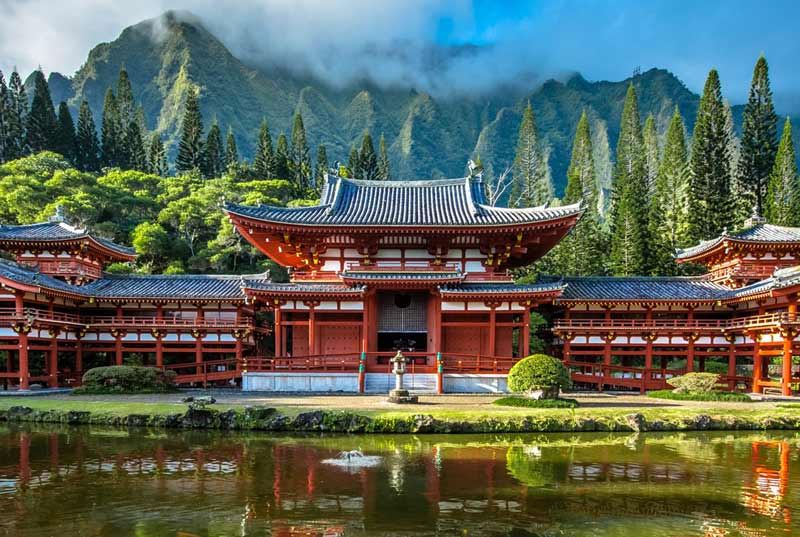 Visit the Byodo-In Temple