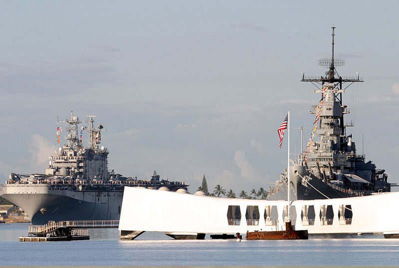 USS Arizona Memorial and Battleship Missouri