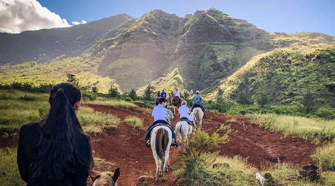 Best Horseback trail on Oahu