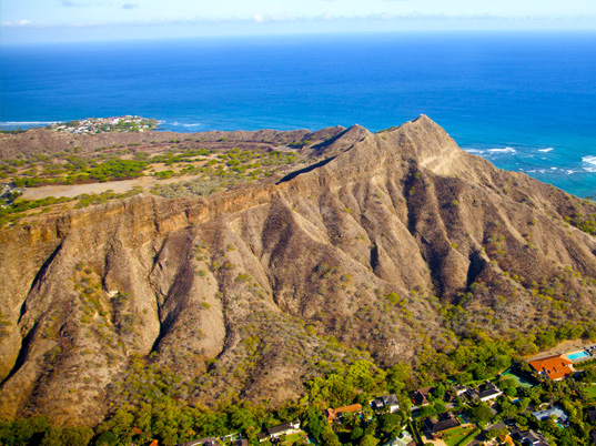 Diamond Head Aerial