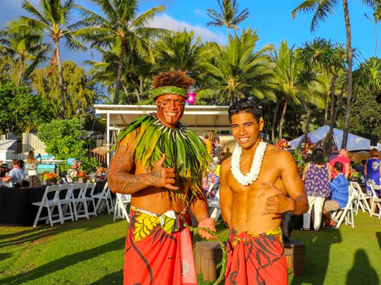 Luau Male Performers
