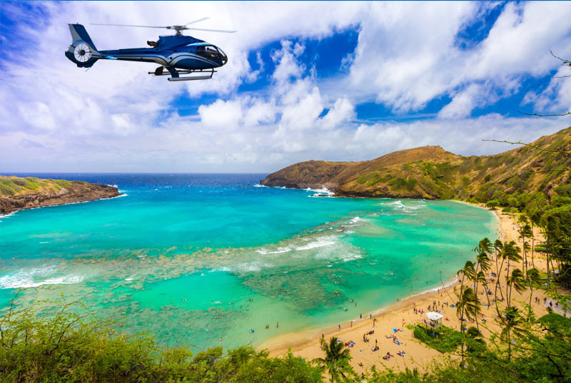 Hanauma Bay Helicopter ride