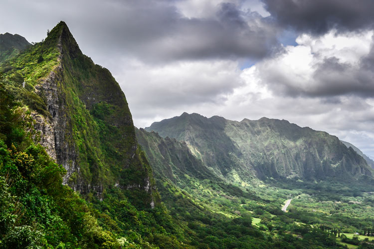 The Pali Lookout