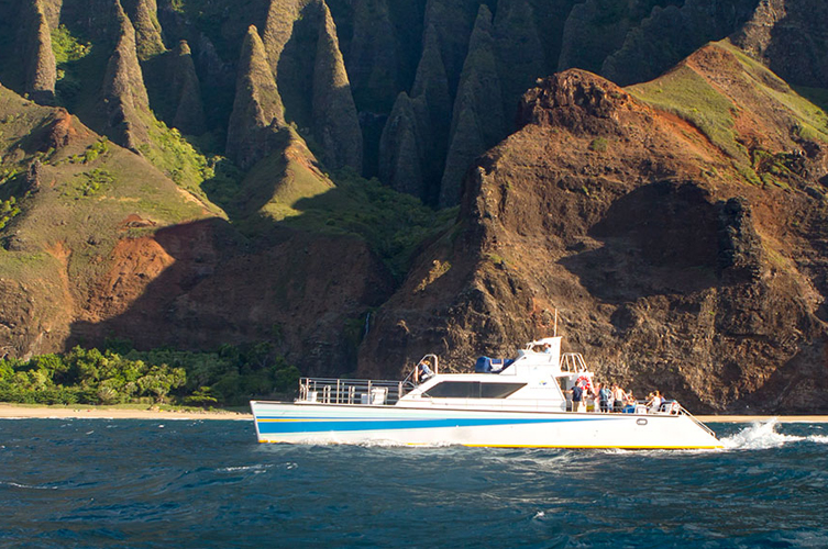 The majestic Na Pali Coast