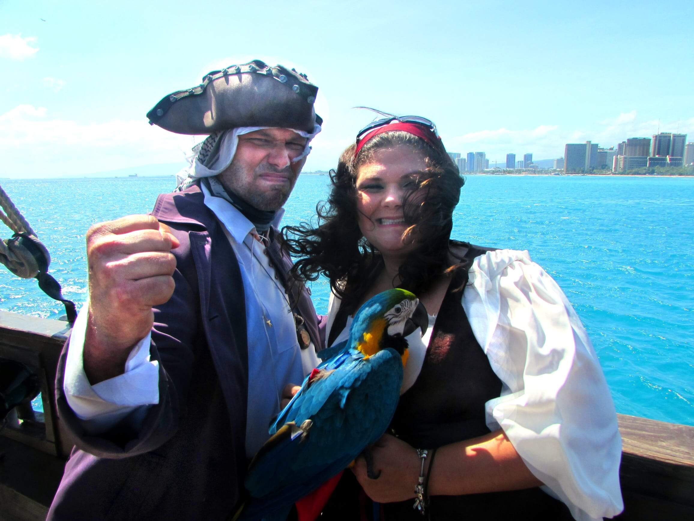 Pirates with Parrot