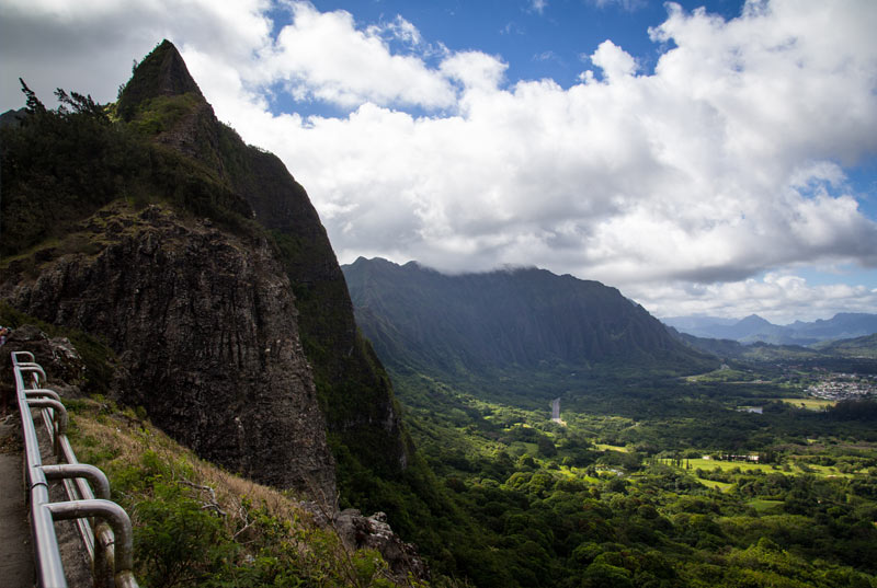 Pali Lookout  Currently unavailable due to roadwork