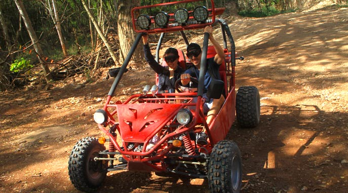 Side by Side Couples ATV