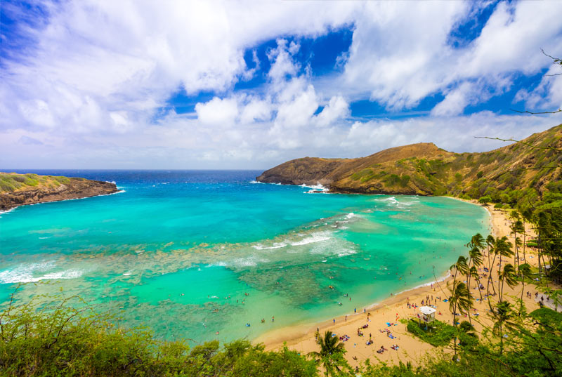 Hanauma Bay was reserved for Hawaiian Royalty
