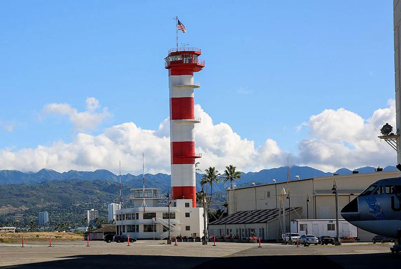 Pearl Harbor Aviation Museum Tower on Ford Island